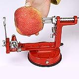 Wanson Schnelles Peeling Älteres Obstmesser Multifunktions-Frucht Apfelschälmaschine Familienküche Krankenhaus Mechanische Peeler Red