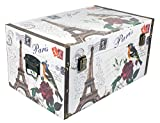 Das Kostümland El Disfraz País Caja de Regalo Paris–Caja Maquillaje Joyas Cofre del Tesoro Regalo Idea Novios, Mittel