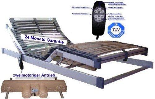 *Hansamat Motorlattenrost Lattenrost DeLuxe 90×200 Elektrisch*