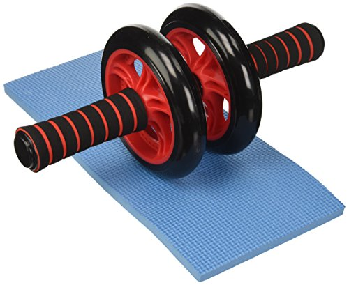 Songmics AB Roller Wheel Push Up Con Cojín Del Arrodillamiento SPU75R
