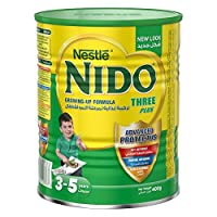 Nestle Nido Three Plus Milk Powder With Protectus - 400G Tin, 12297839