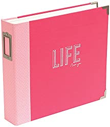 American Crafts Project Life D-ring Album, Multi-colour, 37.84 X 33.02 X 6.6 Cm
