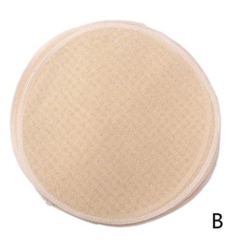 Sommer's Laden Bambusdämpfer Dämpfaufsatz Ersatzbaumwolltuch, 1/3/5erPack - (15/18/22 cm)In DREI Größen Erhältlich - Baumwollgarn 3 Größe