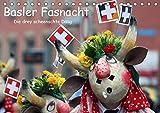 Basler Fasnacht - die drey scheenschte Dääg (Tischkalender 2019 DIN A5 quer): Die Basler Fasnacht ist die grösste Fasnacht der Schweiz und wird auch ... (Monatskalender, 14 Seiten ) (CALVENDO Orte)