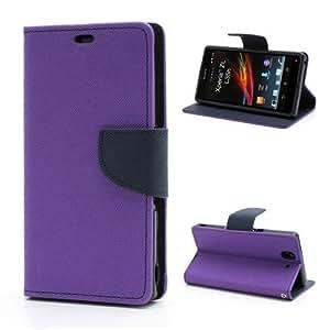 Premium Wallet Case Flip Cover for Htc M10