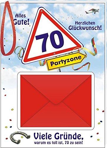 Alles Gute 70: Viele Gründe warum es toll ist 70 zu sein!