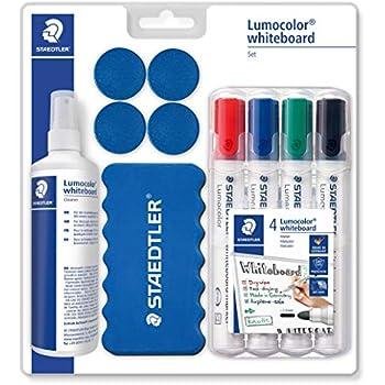 2 mm Rundspitze Staedtler Lumocolor 351 WP8 Whiteboardmarker aufstellbar