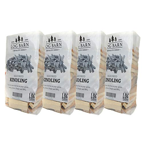 Kindling x 4 Nets - Kiln Dried - alrededor de 12 kg....
