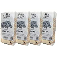 Kindling Wood x 4 Bags - Kiln Dried - About 12kg. Perfect for Starting Open Fires, Wood Burning Stoves, BBQ's, Log Burners, Camp Fires, Fire Pits and Pizza Ovens, Comes in a Cardboard Box
