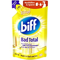 Biff Bad Total Zitrus Nachfüllpack, 6er Pack (6 x 250 ml)