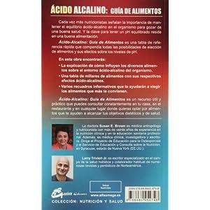 Ácido-Alcalino. Guía D Alimentos (Nutrición y salud)