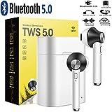 Écouteurs Bluetooth Compatible avec Wiko View 3 Pro (6,3') -Mini Casque Bluetooth...