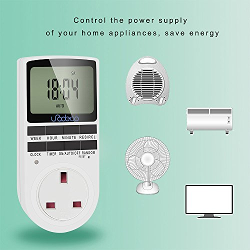 Digital-Timer-Socket-with-Random-and-Summer-Time-Programmable-Timer-Plug-with-LCD-Display-247-days-UK-Plug-Energy-SavingUnodeco-U001
