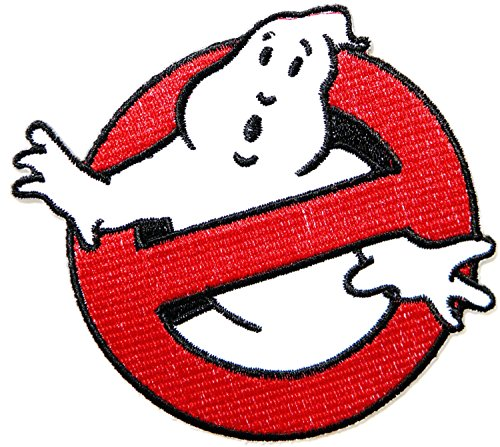 Aufnaher GHOSTBUSTERS Movie Cartoon Logo Baby Kid Polo T shirt Patch Sew Iron on Embroidered Badge Sign Costume Size 3