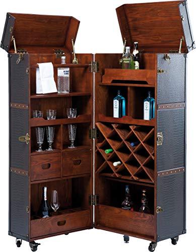Kare Design Schrankkoffer Bar Colonial - Barkoffer im Kolonialstil