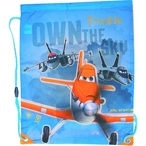 ey Pixar Flugzeuge Drawstring Schule Sport Sporttasche (Benutzerdefinierte Drawstring-tasche)