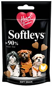 Heartbreakers - 23754 - Softleys Poulet - 55 g - Chiens