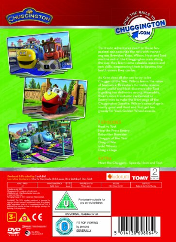 Image of Chuggington - Chugger of the Year (with Die-Cast Toy) [DVD]