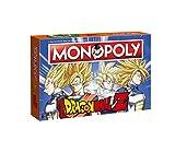 Monopoly - Dragon Ball Z - Deutsch - 6 Sammler Spielfiguren | Gesellschaftsspiel | Brettspiel