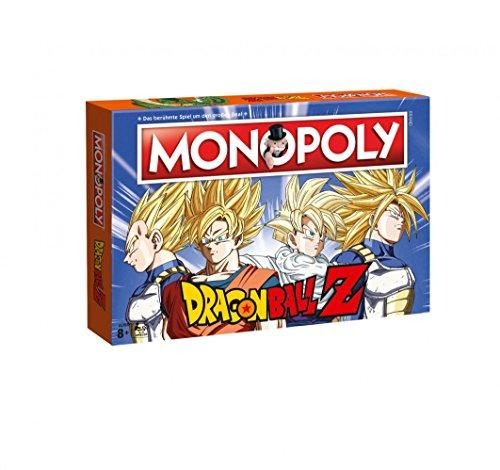 Ball Spielen Dragon Karten Z (Monopoly - Dragon Ball Z - Deutsch - 6 Sammler Spielfiguren | Gesellschaftsspiel | Brettspiel)