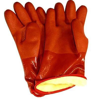 Handschuh Atlas Sb460M Schneefräse Pvc-Handschuh, Orange, Medium