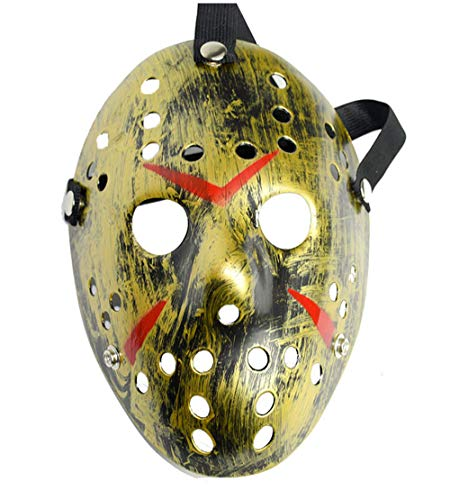 GEIUEIMAN Halloween-Party Halloween Maske Freddy Wars Jason Halloween Kostüm Ball Maske Horror Harz Weihnachtsmaske