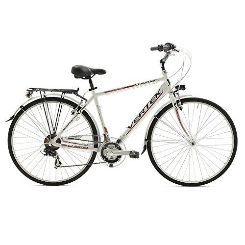 VERTEK BICICLETA TEMA 28HOMBRE BLANCO/MARRON DE 21VELOCIDADES (CITY)/BICYCLE TEMA 28FOR MAN 21SPEED WHITE/BROWN (CITY)