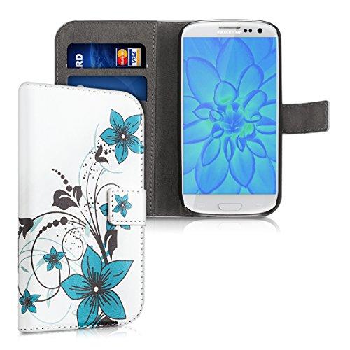 kwmobile Samsung Galaxy S3 / S3 Neo Hülle - Kunstleder Wallet Case für Samsung Galaxy S3 / S3 Neo mit Kartenfächern und Stand