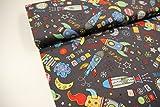Plástico/Niños/metro/A Partir de 25cm/algodón de la mejor calidad/algodón Misiles planetas sobre gris