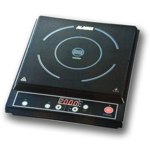 Preisvergleich Produktbild Induktionsplatte Alaska Induktionskochfeld IC 2009 / 10 Leistungsstufen / Timer / Auotmatisch Topferkennung