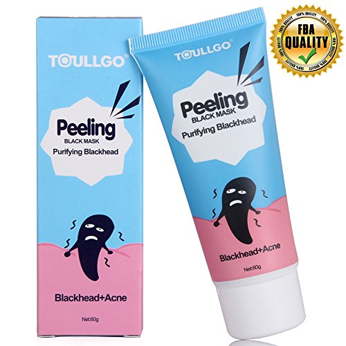 Máscara Negra, Black Mask, Máscaras Negro, Tearing Style Deep Cleansing Purifying Blackheads y Acné Peel-off Máscara,black Mud Face Mask Peel Off Máscara/Acné Máscara/Máscara Limpieza/ (60ml)