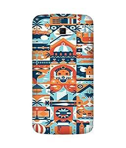 Abstract Print Samsung Galaxy Grand 2 Case