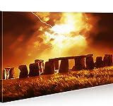 islandburner Bild Bilder auf Leinwand Stonehenge 1p XXL