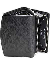 KORUMAⓇ RFID protégées - dames cuir de qualité sac à main avec zip autour du changement plateau - solution carte de problème de conflit - boîte-cadeau (kuk-10PNBL)