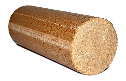 20kg mumba Probierset Rundholz Nadelholz Briketts im Karton, für Kamin, Ofen, Herd, Grill oder Lagerfeuer, Holzbriketts