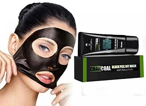 UrbanGabru Charcoal Peel Off Mask, 60g