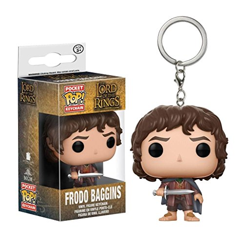 Bilbo Hobbit Beutlin Kostüm Kind - Herr der Ringe - Pocket Pop - Vinyl Schlüsselanhänger - Frodo Beutlin
