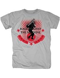 Rage Against the Machine Herren Band T-Shirt - Stone Thrower Redux