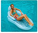 MNJNDN Silla reclinable de la Piscina Inflable del Escape Transparente
