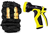 EVER RICH ® Black 100 Feet Newest Expandable - Best Reviews Guide