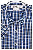 #9: Arihant Men's Checkered Half Sleeves Reguler Fit 100% Cotton Formal Shirts