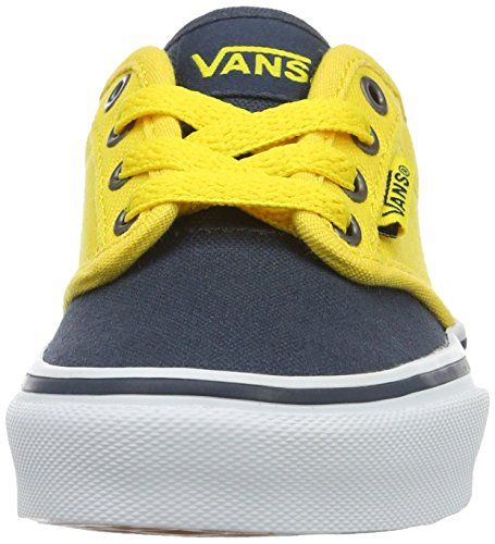 Vans  Yt Atwood, Sneakers Basses garçon Bleu (2 Tone Blue/yellow)
