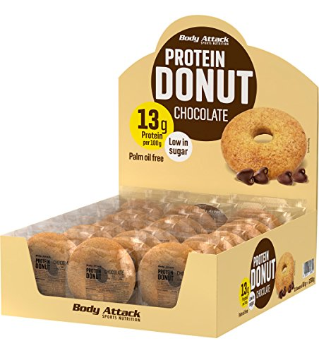 Body Attack Protein Donut 21x 60 g (Chocolate)