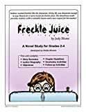 STUDY GUIDE - FRECKLE JUICE Gr. 2-4 (English Edition)