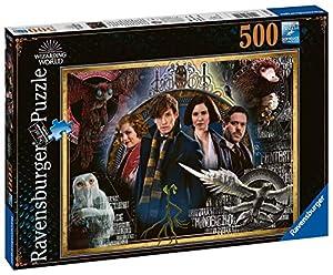 Ravensburger Fantastic Beasts Puzzle - Rompecabezas (Puzzle Rompecabezas, Televisión/películas, Niños y Adultos, Niño/niña, Interior, Multicolor)
