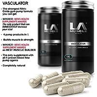LA Muscle Vasculator pre-allenamento ossido nitrico Booster