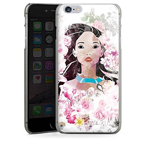 Apple iPhone X Silikon Hülle Case Schutzhülle Disney Pocahontas Geschenke Fanartikel Hard Case anthrazit-klar