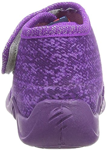 Rohde Kiddie, Chaussons montants fille Violet (59 Brombeere)