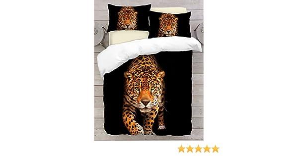 Cheetah 1x Kissenbezug Alle Gr/ö/ßen Adam Home 3D Digital Printing Bett Leinen Bettw/äsche-Set Bettbezug