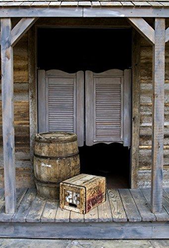 Fotografie Hintergrund Papier Old Barn Tür Foto Hintergrund Western Saloon Türen Individuelle Studio Requisiten d-1286 (Western-requisiten)